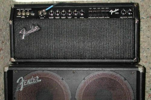 Very rare fender 140 head & cabs
