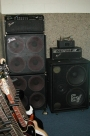 EV 2X15 2-Way Bass Cabinet with Midrange Speaker