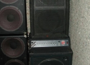 Fender 2x12 upright speaker cabinet