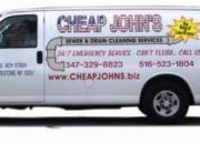 Cheap John's #1 Sewer Cleaning NJ  347-329-8823