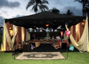 Moroccan/indian theme event rentals