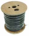 1000ft 16AWG Solid Dish Ground Wire Cable Black
