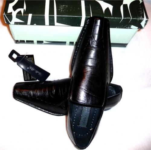 Pictures of Delli aldo mens dress shoes designed in italy 2010 retail ready $3600.00 1