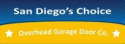 San diego's choice overhead garage door co