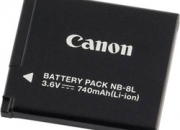 Canon nb-8l battery