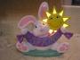 BABY'S ROOM LIGHTED BUNNY NIGHTLIGHT