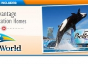 SeaWorld Vacation Package from Advantage Vacation Homes