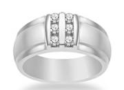 14K Gold Men's Diamond Ring at Lowest Price + Free Shipping