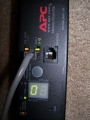APC Rack PDU, Metered, Zero U, 30A, 120V, AP7832