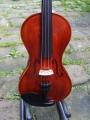 Andrzej Swietlinski (Polish maker) Stradivarius Violin Copy. Made in 2007 in Nowy Targ, Po