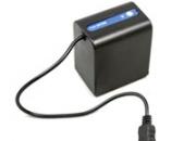 Sony np-fv100 battery 2100mah 6.8v rechargeable