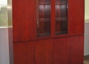Office furniture - executive office cabinet (cherry wood veneer)