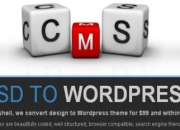 Psd to wordpress conversion: best price!!