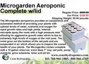 Microgarden aeroponic complete w/lid