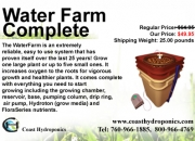 Water farm complete