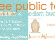 Public talk: meditation and modern buddhism