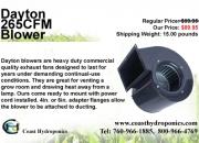 Dayton 265cfm blower