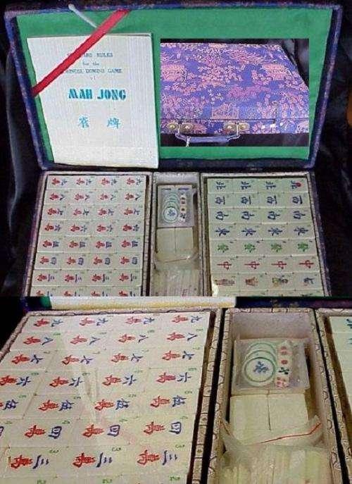 Mahjong set - feng shui products