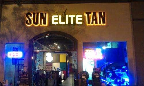 Sun elite tan
