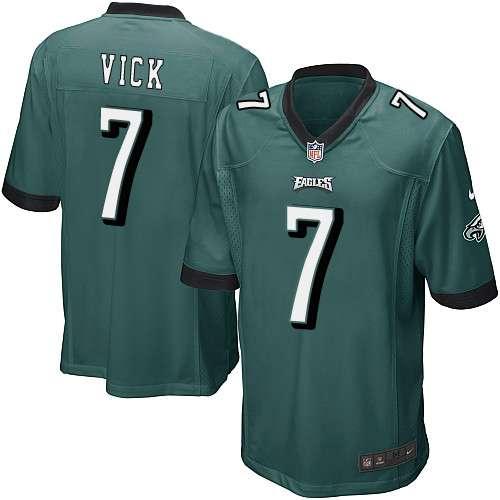 Michael vick #7 philadelphia eagles 2012 new style green nfl jersey