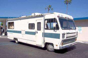 Class a chevrolet overland rv for sale in California - Sell