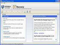 Get ost file recovery to recpover ost to pst.