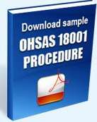 Download sample ohsas 18001 procedures