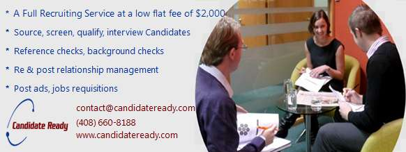 Low flat fee of $2,000 for full service recruiting