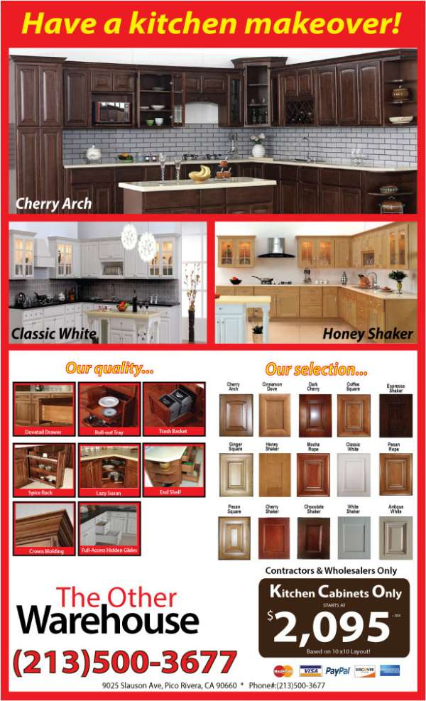 Have a kitchen makeover!!! the other warehouse