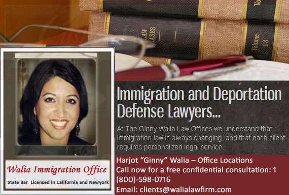 Ginny walia immigration lawyer in san jose
