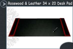 Leather office desk accessories-executive leather desk sets,desk sets accessory