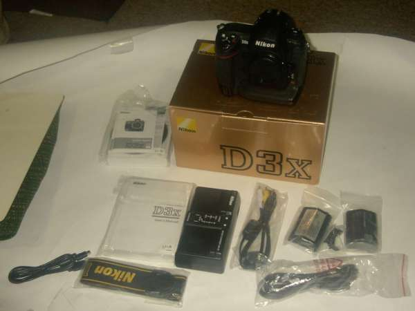 Nikon d3x camera body only black $7599