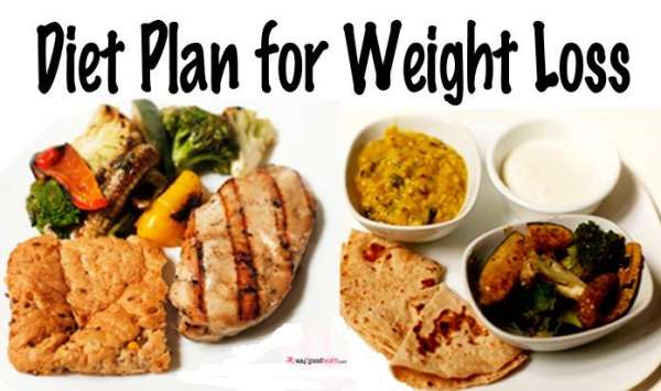 Lowcalorie diet plan for weight loss