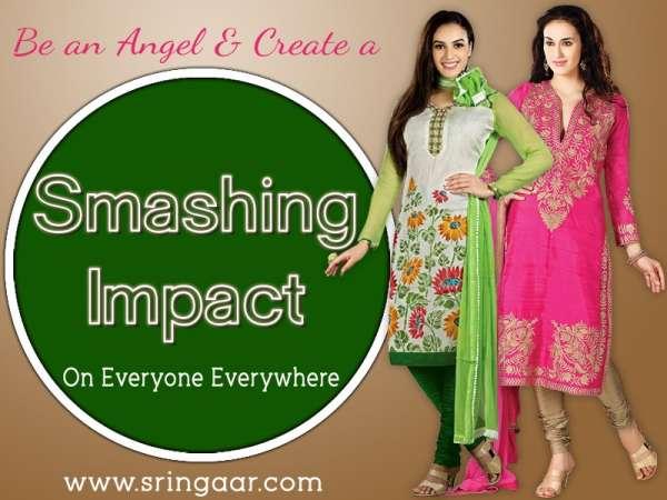 Salwar online shopping at sringaar brand