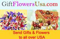 The emotion is best delivered through flower and gifts hamper
