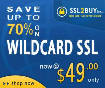 Black friday deal! alphassl wildcard @ $49 from ssl2buy