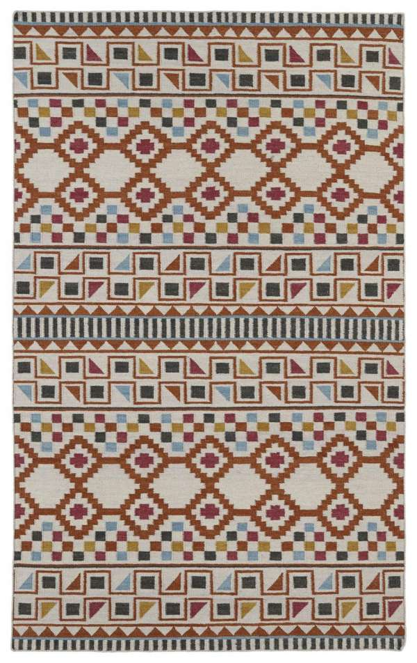 Shop lavish transitional kaleen rugs nomad ivory at rugsandblinds