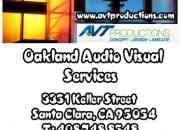 Audio visual equipment redwood city