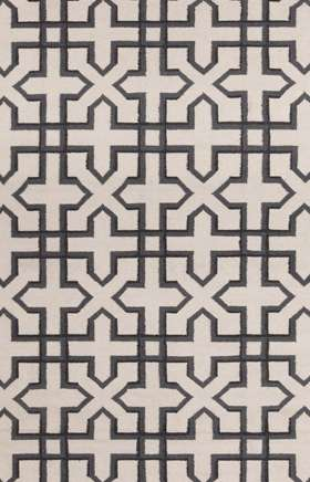 Get the best deals on transitional lima white and black rugs at rugsandblinds.com