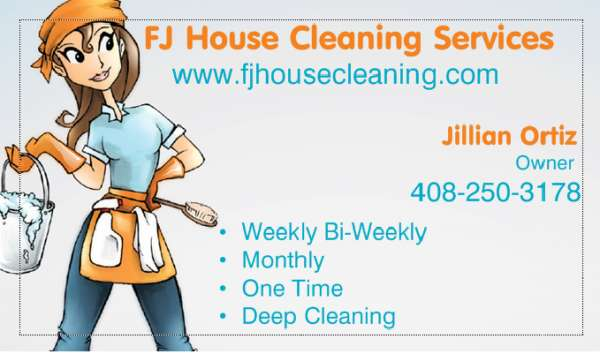 Best house cleaning service great reviews same day service fj cleaning (los gatos)