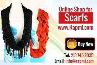 Buy stylish animal print scarves for women