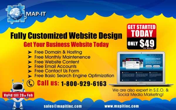 Map-it inc - website design service & web design company