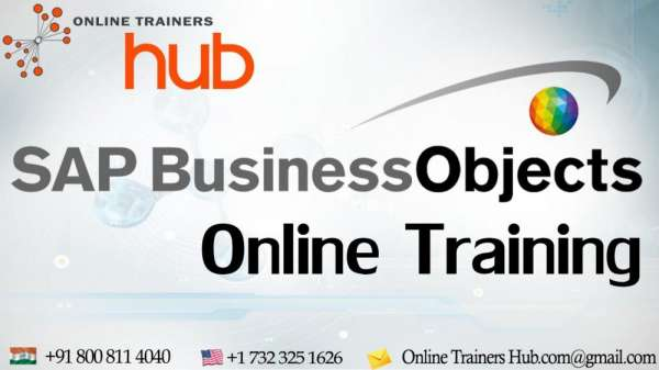 Sap bo (business objects) is a set of front end applications