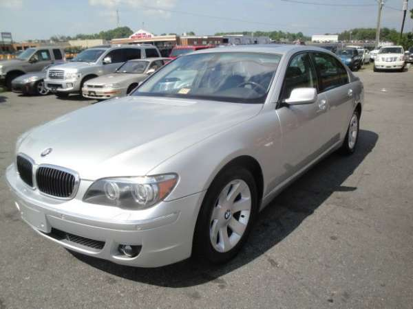 2006 bmw 750li, 6-speed semi-automatic