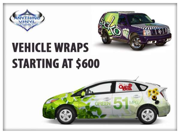 Car decal stickers, custom graphic, decal printing - anything vinyl graphics