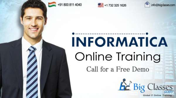 Informatica online course at low price cost and join with a free demo