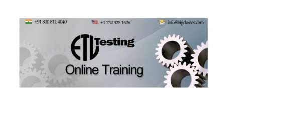 Etl testing online training with a free live demo