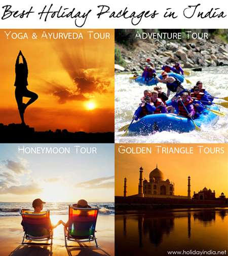 Find the best holiday packages in india