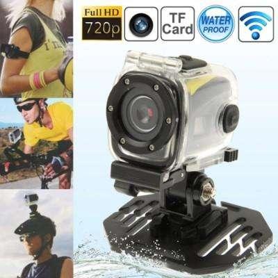 Full hd 720p sport camera with waterproof case, 5.0 mega pixels