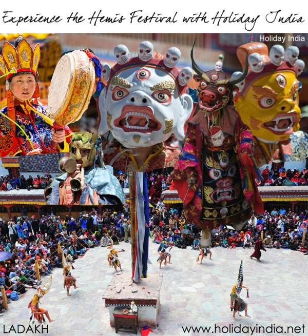 Experience the hemis festival with holiday india